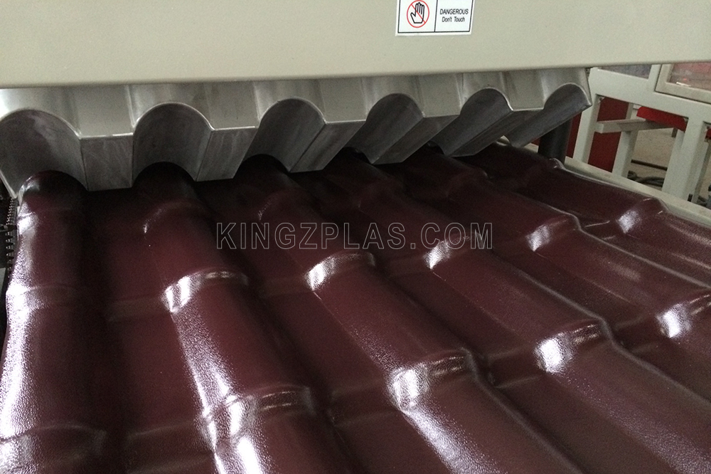 PVC-roof-tile-extrusion-line