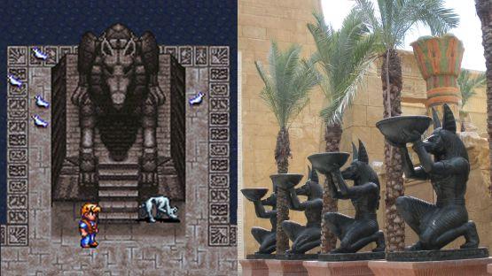 Secret of Evermore Egypte Anubis