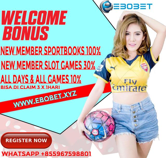 EBOBET.NET | AGEN LIVE CASINO| SPORTBOOKS | IDN POKER | SLOTS GAMES | TEMBAK IKAN Baner-1