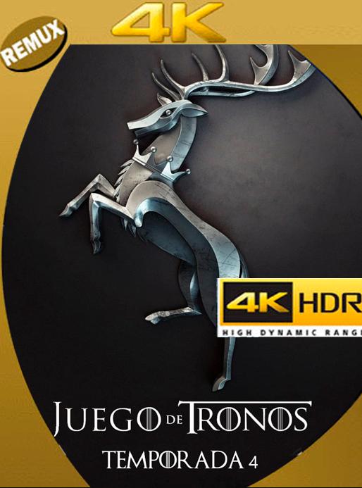 Game of thrones Temporada 4 4K REMUX 2160p UHD [HDR] Latino [GoogleDrive] Orochimaru69