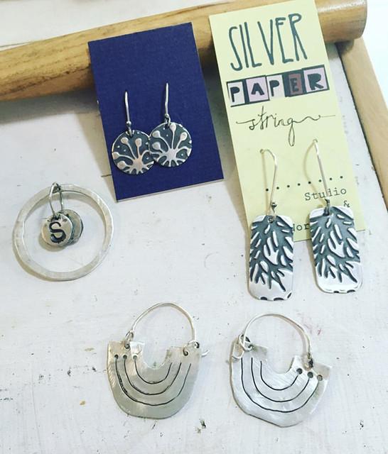 silver-earings