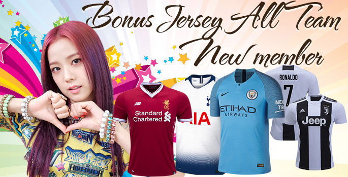 Bonus Jersey Khusus Member Baru ( All Team )