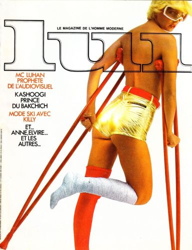 Cover: Lui France No 11 1976