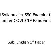 English-1st-paper-Short-Syllabus
