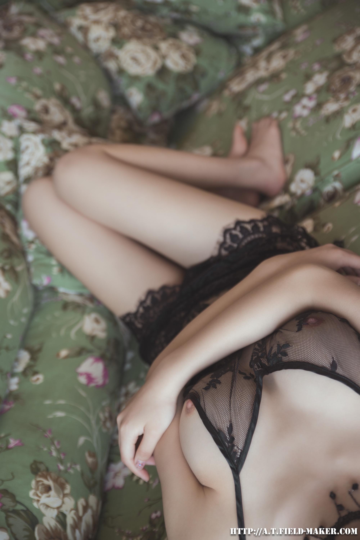 Tsubaki Album vol.006 Sheer lace pajamas 怠いお昼のパジャマ少女 sexy-nightdress-25