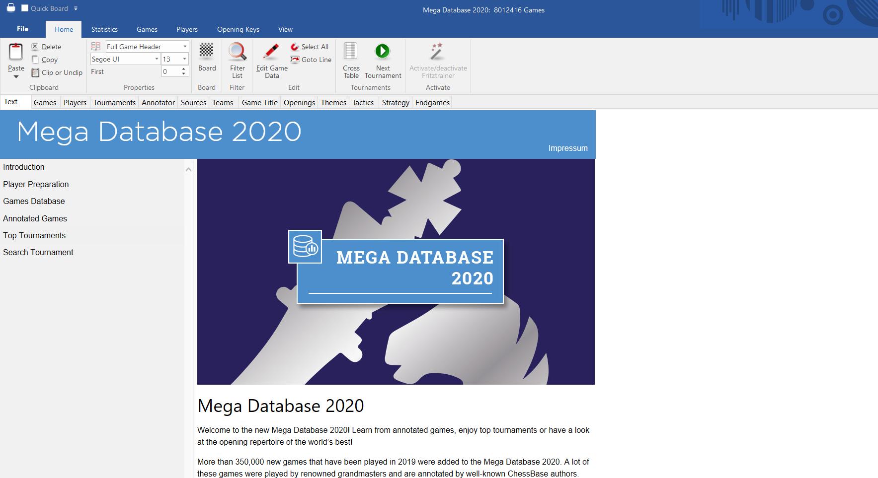Mega Database 2020 Image
