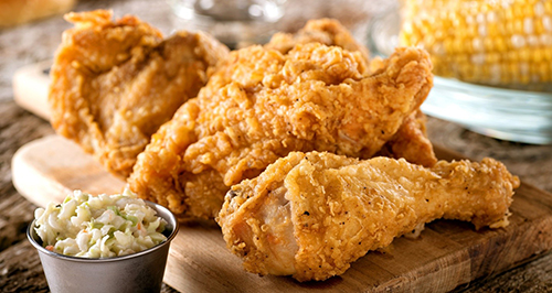 Love the Crunchiness of Fried Chicken Wings