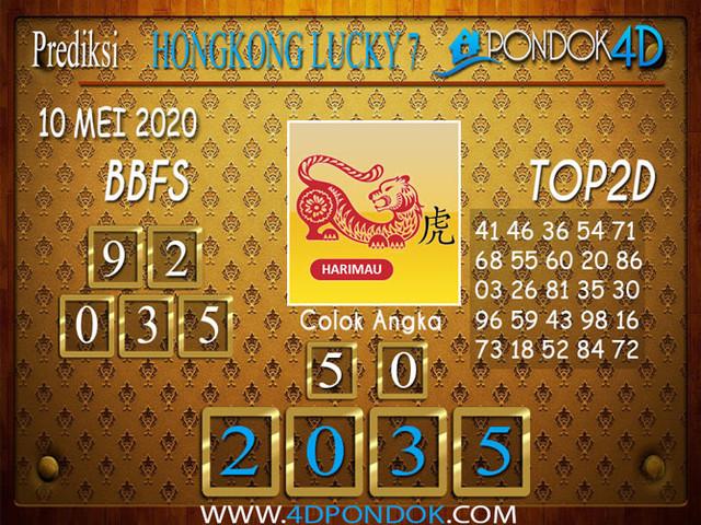 Prediksi Togel HONGKONG LUCKY 7 PONDOK4D 10 MEI 2020
