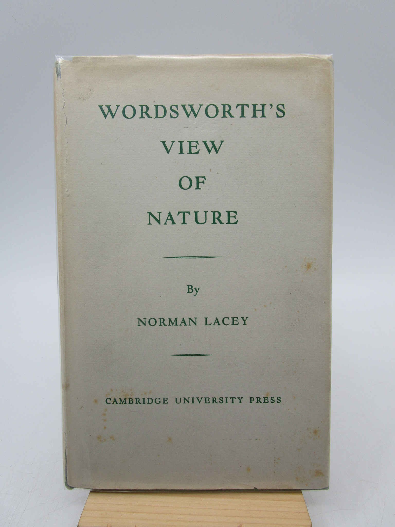 Image for Wordsworth's View of Nature and Its Ethical Consequences