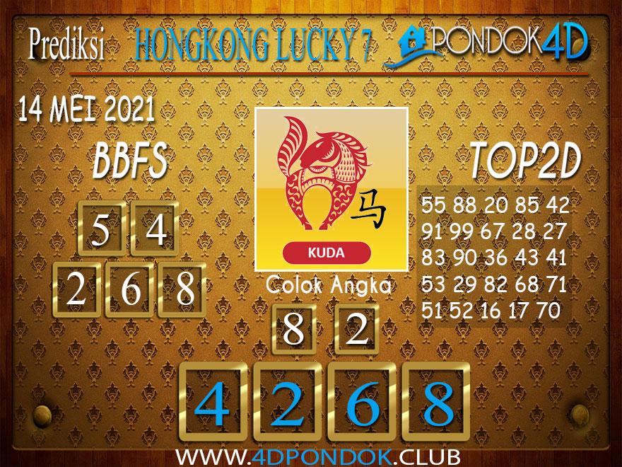 Prediksi Togel HONGKONG LUCKY7 PONDOK4D 14 MEI 2021