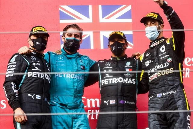 F1 GP Émilia Romagna 2020 : Vitoire Lewis Hamilton, le titre pour Mercedes M250856