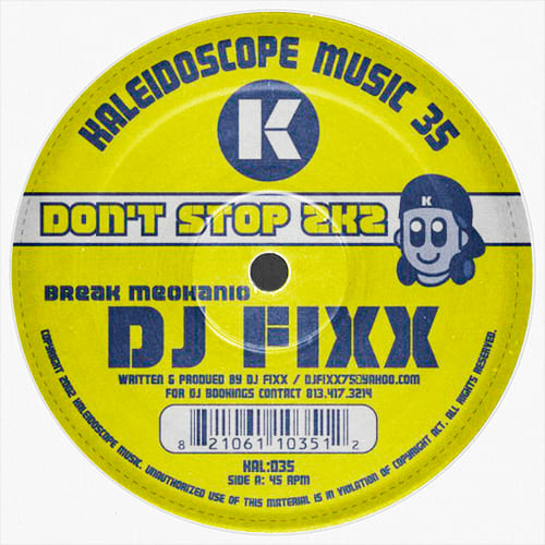 Download DJ Fixx - Don't Stop 2K2 mp3