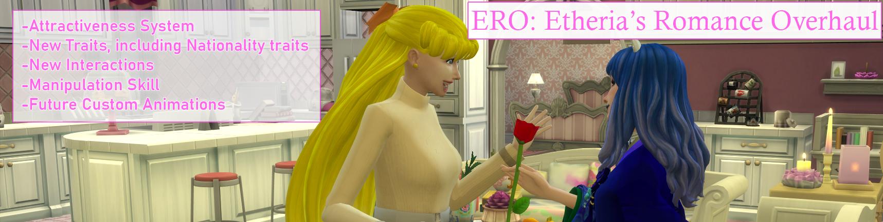 Расширенная система романтики / Etheria's Romance Overhaul 3.2 (16.12.2020)