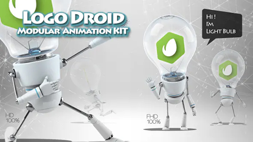 Logo Droid Modular Animation Kit 20344870 - Project for After Effects (Videohive)