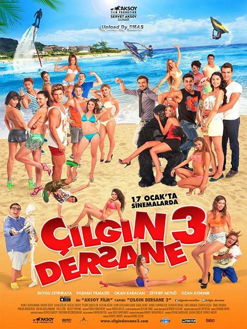 Çılgın Dersane 3   2014   Yerli Film   1080p   WEB-DL   Sansürsüz   1.50 GB   Tek Link