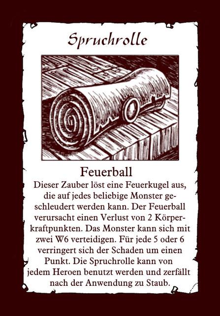 Spruchrolle-Feuerball