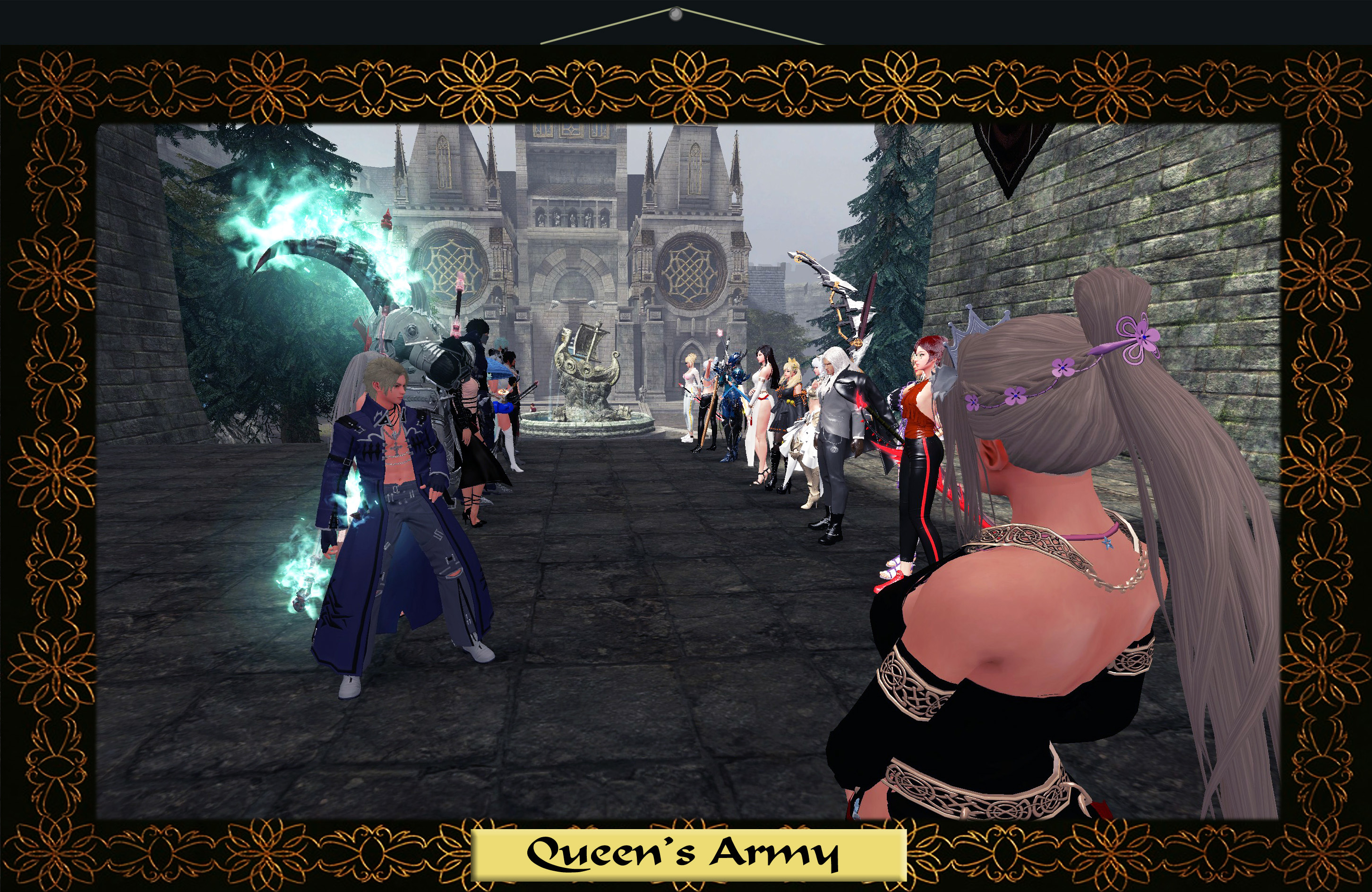 rocheste-rows-queen-army-framed.jpg