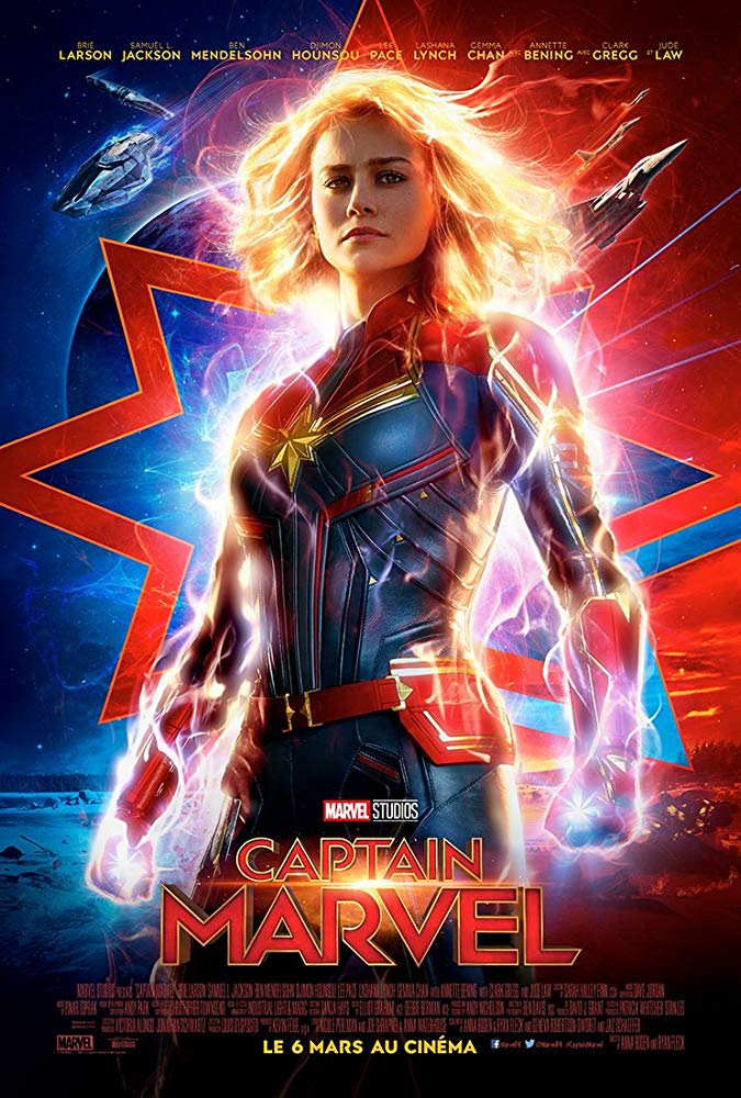 Captain Marvel 2019 Hindi Dubbed Movie  HDRip x264 AC3