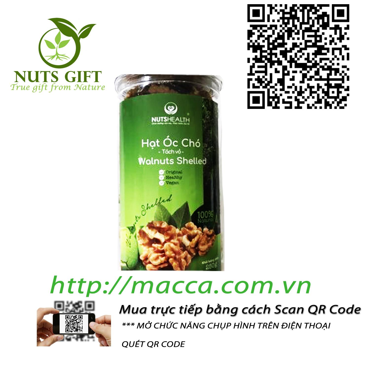Nhân Qủa Óc Chó – Nutshealth – 250Gr