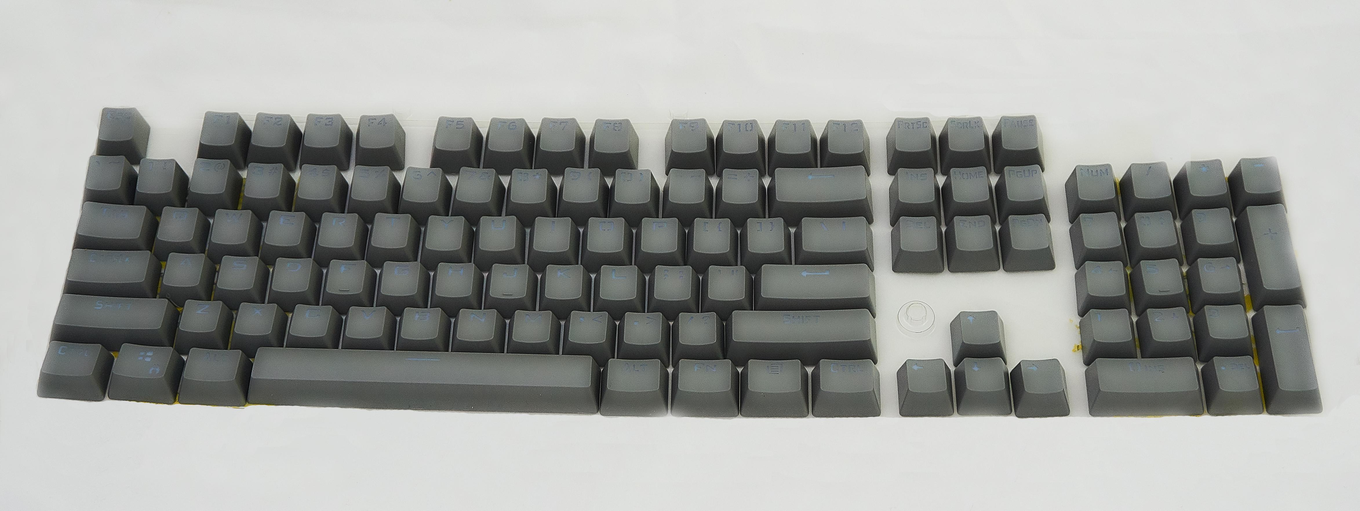 Keycap Cinza Escuro Tecla para Teclado Mecânico