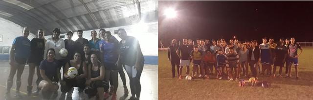 Locales: El municipio de Gilbert entregó  materiales deportivos al ´´azurro´´