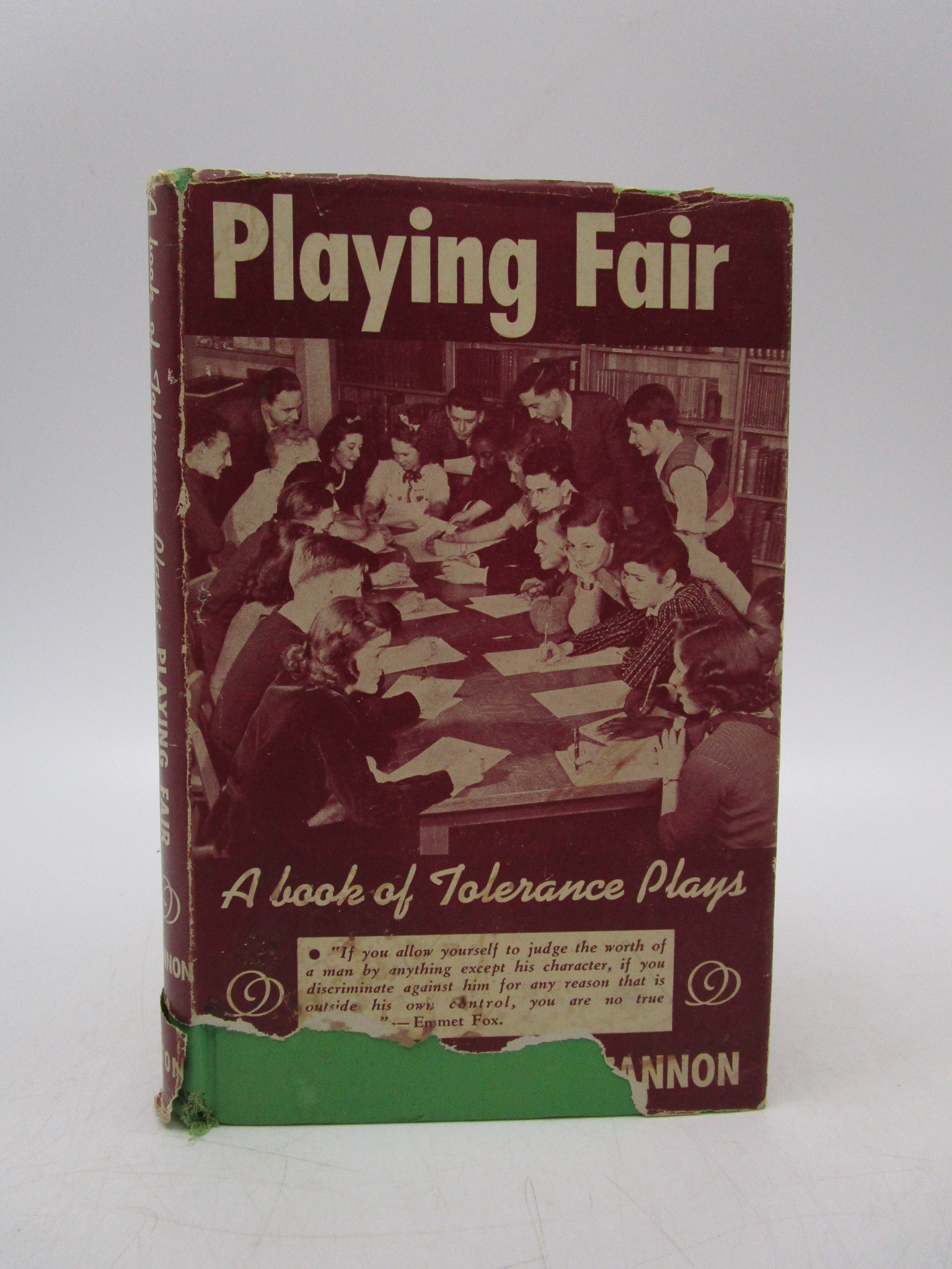 Image for Playing Fair: A Book of Tolerance Plays (First Edition)
