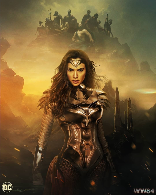Wonder Woman 1984 (2020) English Movie HDRip 720p AAC