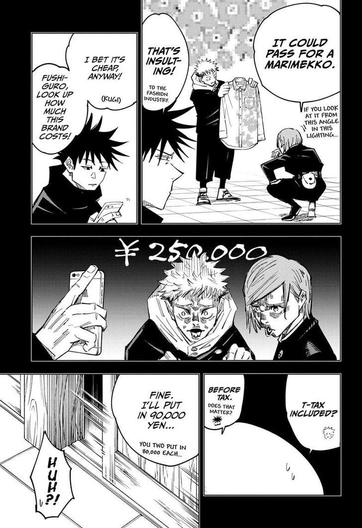 Jujutsu Kaisen, Chapter 126 003