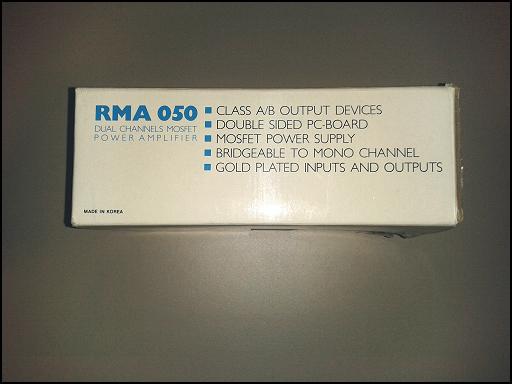 [VENDO] AMPLIFICATORE PROLINE RMA050 (Classe A/B) (Fabbricato In U.S.A.) PROLINE09