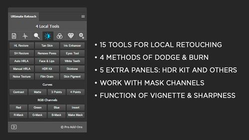 Ultimate Retouch Panel 3.7.73 for Adobe Photoshop
