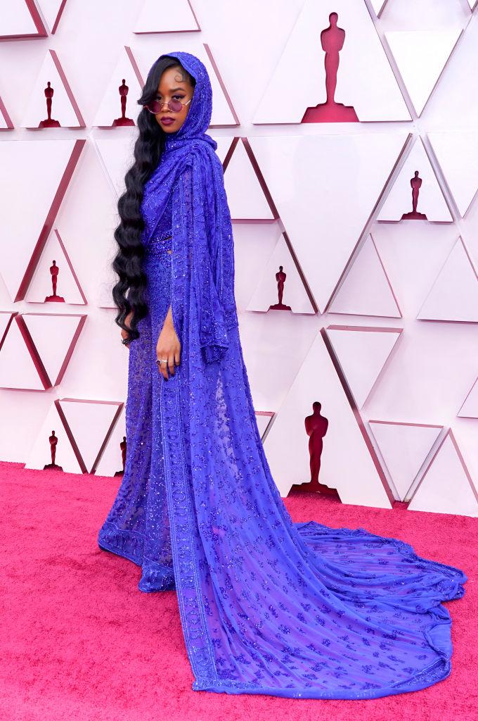 Oscar 2021 red carpet