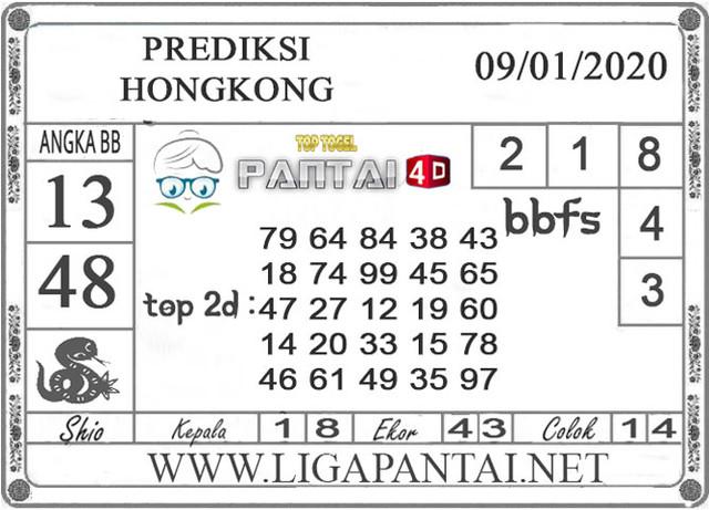 PREDIKSI TOGEL HONGKONG PANTAI4D 09 JANUARI 2020