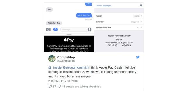 tweet irlanda