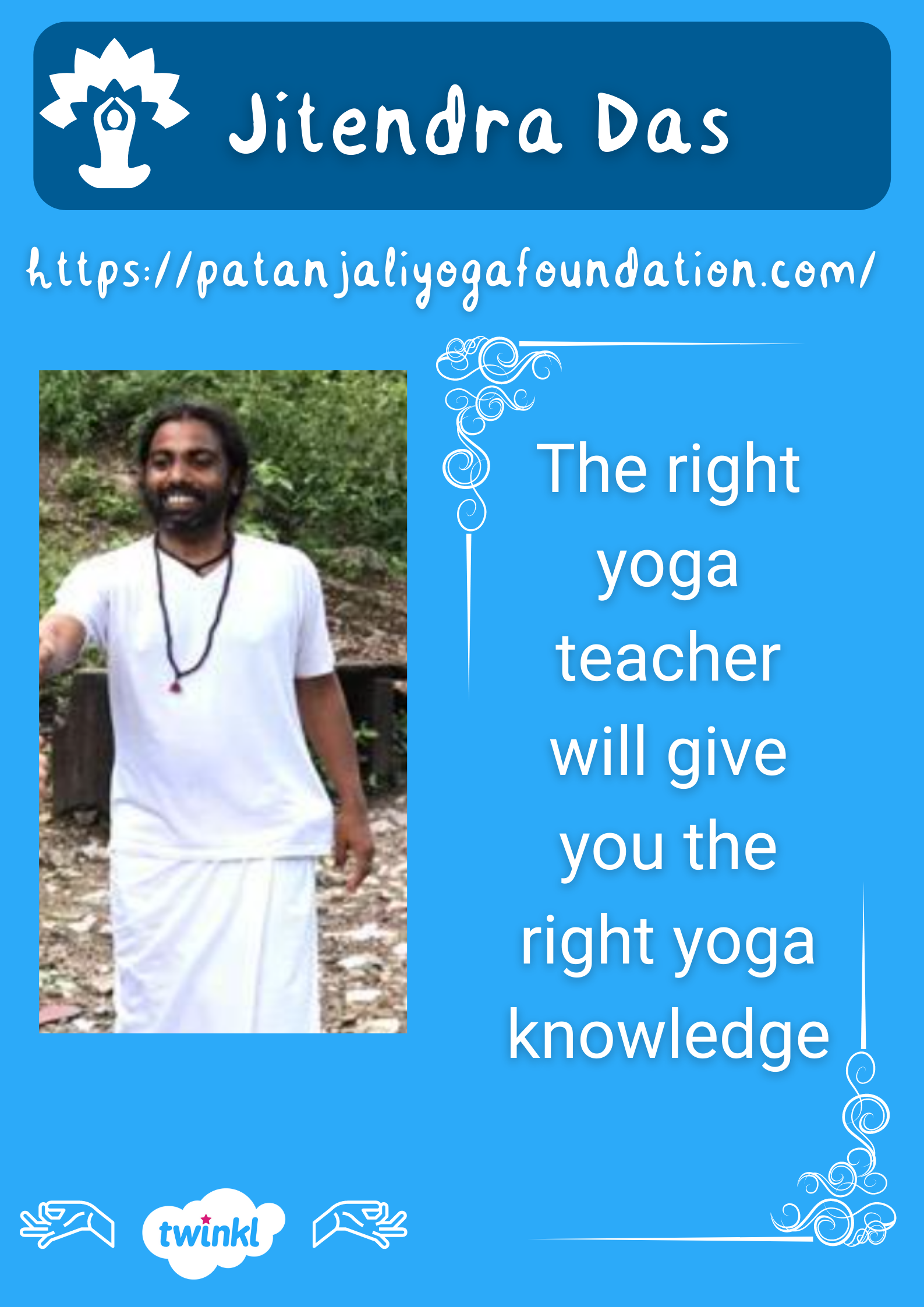 Jitendra Das Patanjali yoga foundation