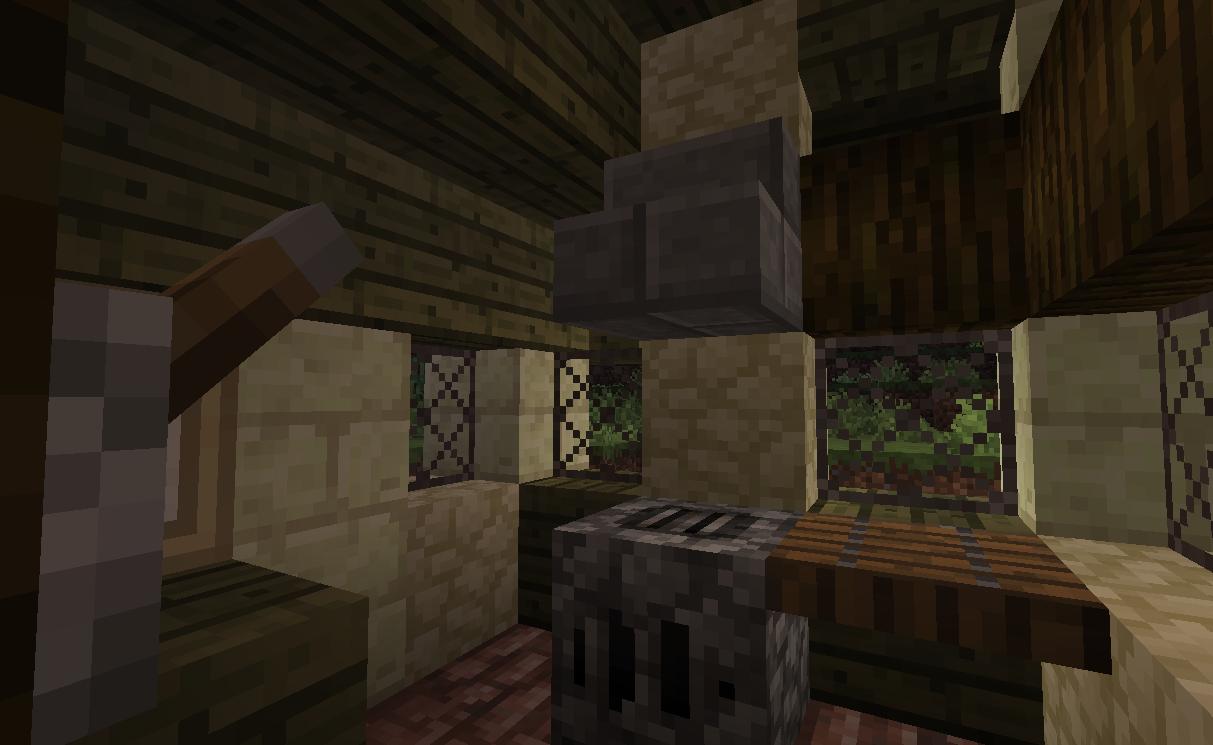 endstone house interior