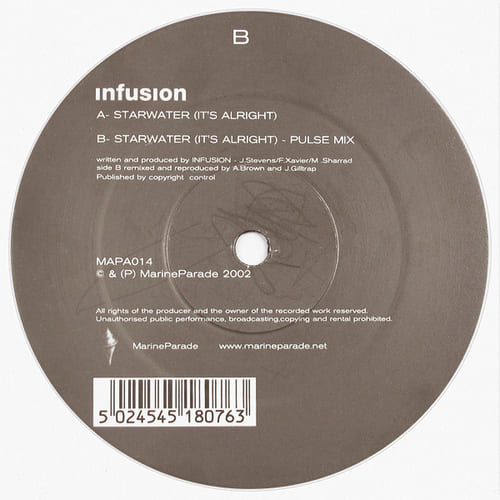 Download Infusion - Starwater (It's Alright) mp3