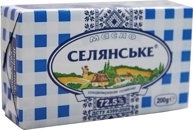 """Николаевцам не советуют покупать сливочное масло """"Селянське"""""""