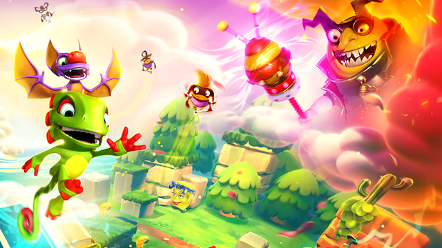 YOOKA-LAYLEE AND THE IMPOSSIBLE LAIR: For The Next 24 Hours The Game Will Be Free On Epic Games Store