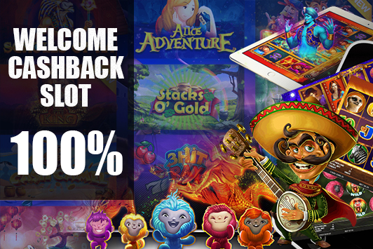 Welcome Cashback 100% Slot