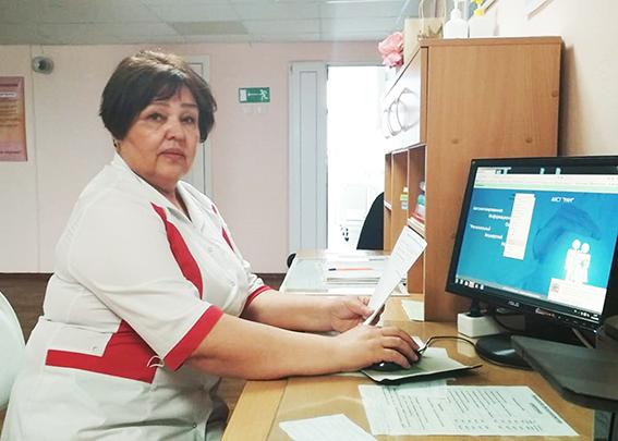 Хамида Тазетдинова акушерству посвятила всю свою трудовую жизнь − 45 лет