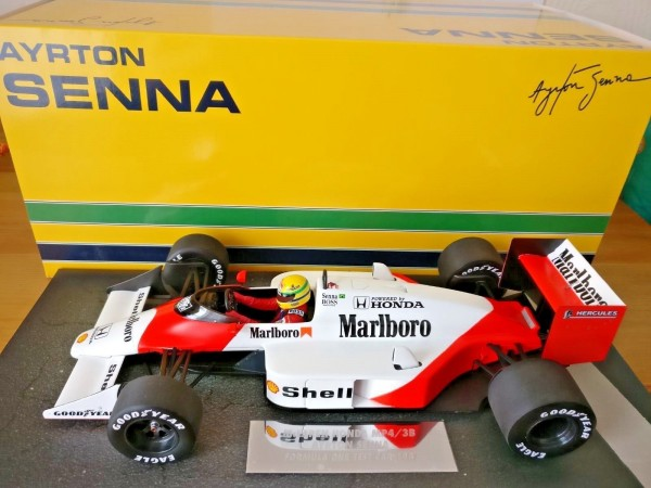 Senna 1987 Mclaren MP4-3 Test car