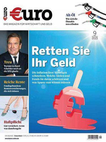 Cover: Euro Magazin für Wirtschaft und Geld No 09 September 2021