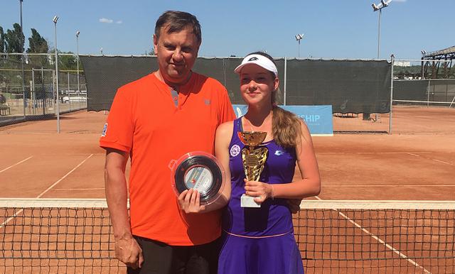 Юниоры. Костенко выиграла дебютный титул ITF Juniors