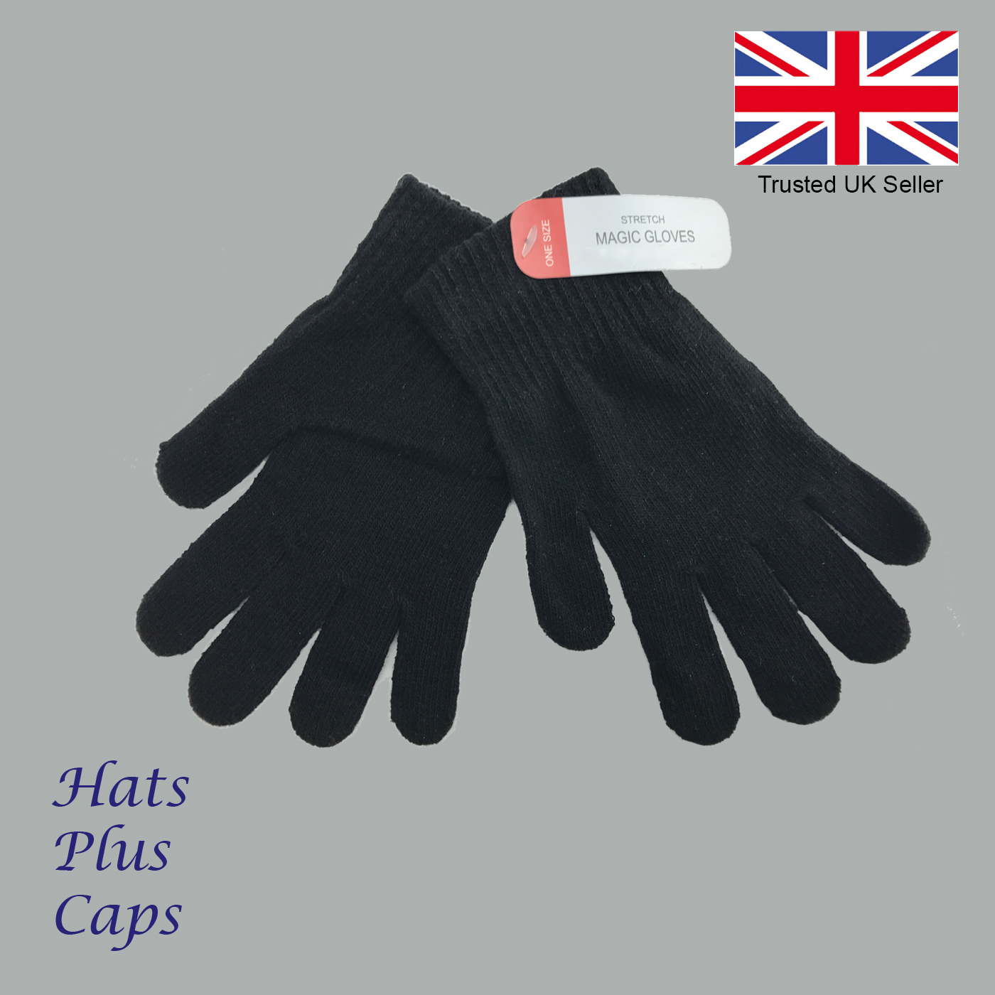 Mens Thermal Magic Gloves Winter Stretch