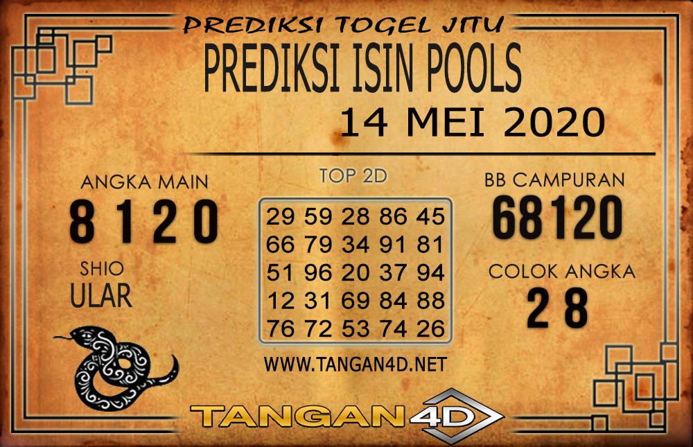 PREDIKSI TOGEL ISIN TANGAN4D 14 MEI 2020