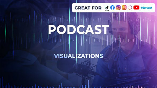 Podcast Visualizations 26390691 - Project for After Effects (Videohive)