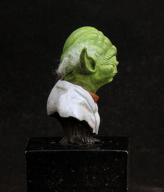 """Do. Or do not. There is no try"" (Buste Yoda) IMG-3400"