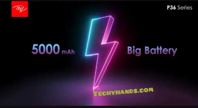 iTel P36 battery