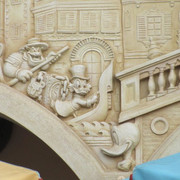 Shanghai-Disneyland-Il-Paperino-Donald-Waffle-Mural-3
