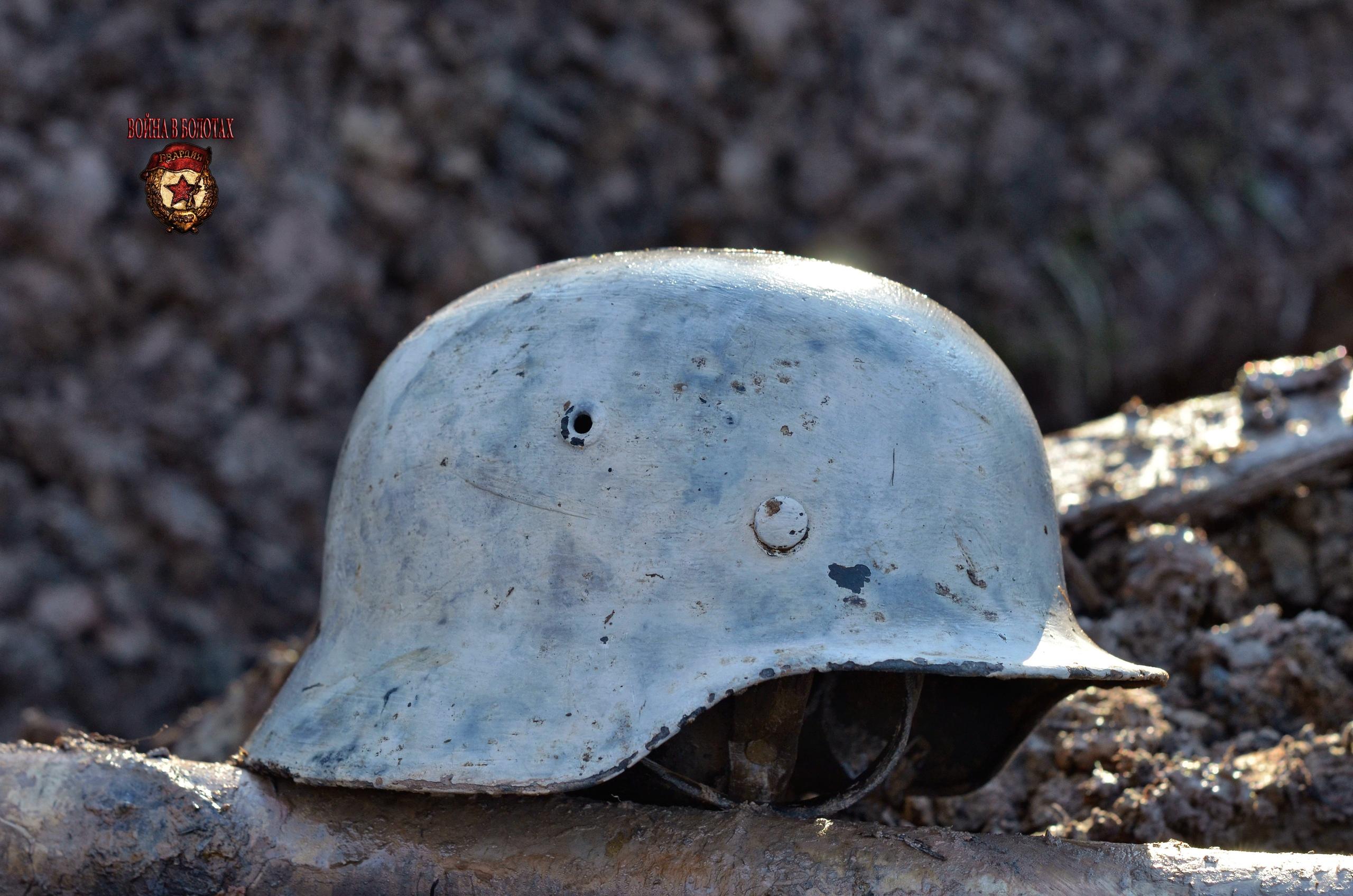 German helmet M-40 in perfect condition.